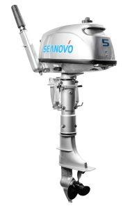 Лодочный мотор Seanovo SN5FHS без бака (5 л.с., 2 такта)